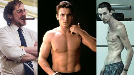 These actors transformed their bodies beyond measure for their starring roles