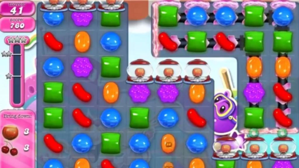 Candy Crush Saga level 1027: solution and tricks to passing the level