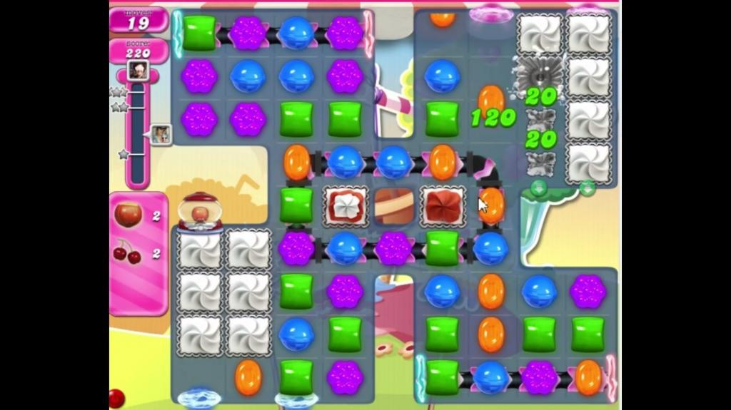 Candy Crush Saga level 2085: solution and tricks to pass the level