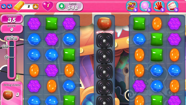 Candy Crush Saga: video solution and tricks to pass the level 548