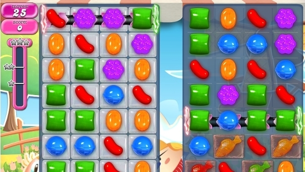 Candy Crush Saga: video solution and tricks to pass level 597