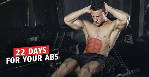 Six Exercises To Get The Abs Of Your Dreams