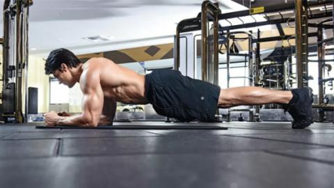 3 Ways To Plank For Shredded Abs
