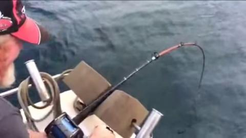 This Fisherman Got The Fright Of His Life When He Reeled In His Catch