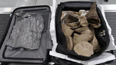 Customs Police At Hong Kong Airport Couldn't Believe What They Found In This Passenger's Suitcase