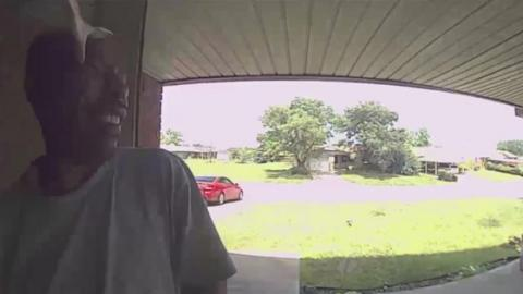 He Rings His Friend's Doorbell… Only To Be Savagely Attacked By A Snake