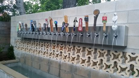 Slovenia: A Public Beer Fountain Set Up In A Park In Zalec