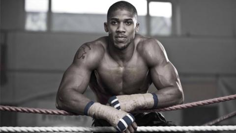 Anthony Joshua Reveals His Unique Training Tips For Getting Ripped