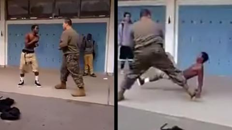 This Young Man Underestimated A US Marine And Seriously Regretted It