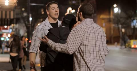 These Two Guys Learned To Think Twice After Throwing Abuse At A Girl, Thanks To Her Boyfriend
