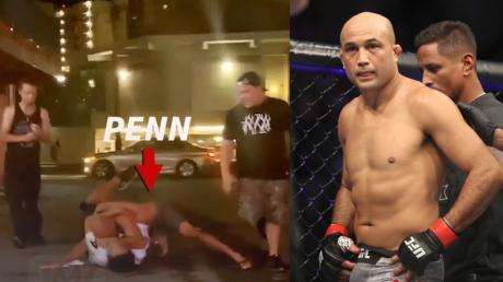 UFC Fighter BJ Penn In Yet More Trouble After Fight With A Bouncer Outside A Strip Club