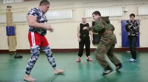 What Happens When An MMA Fighter Takes On A Series Of Elite Russian Soldiers