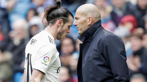 This Was Zidane's Response To The Remarks From Gareth Bale's Agent