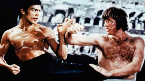 Chuck Norris Reveals What Bruce Lee Said To Him When Filming Way Of The Dragon!