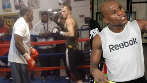 Mayweather Responds To Youtube Troll Who's Been Calling Him Out... In The Ring!