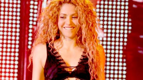 Shakira Goes Barefaced In A Bikini On The Beach And Her Fans Are Going Wild