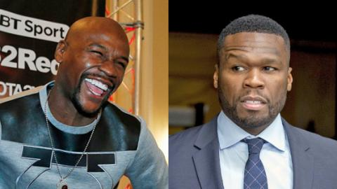 Floyd Mayweather And 50 Cent Go To War With Each Other