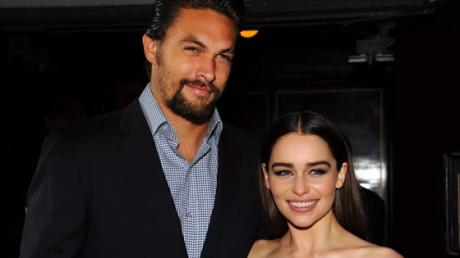 This Was Emilia Clarke's Hilarious Reaction To Seeing Jason Momoa's 'Member' For The First Time