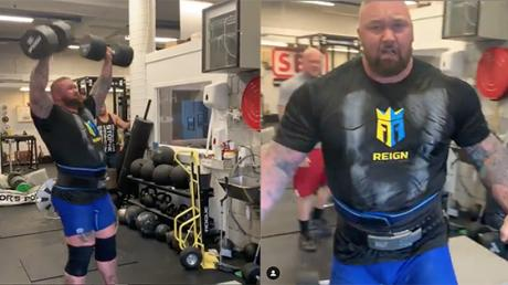 This Is The Mountain's Unbeatable Circuit To Prepare For The World's Strongest Man