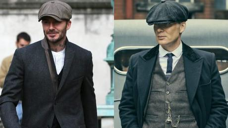 David Beckham Is Launching A Peaky Blinders Clothing Line