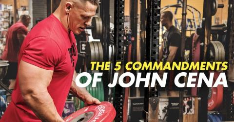 John Cena Wants You To Follow These Five Commandments In The Gym