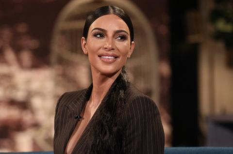 Kim Kardashian Leaves Nothing To The Imagination In Sultry Catsuit Snaps
