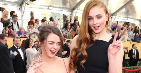 Sophie Turner Reveals She And Maisie Williams Like To Take Baths Together After Filming