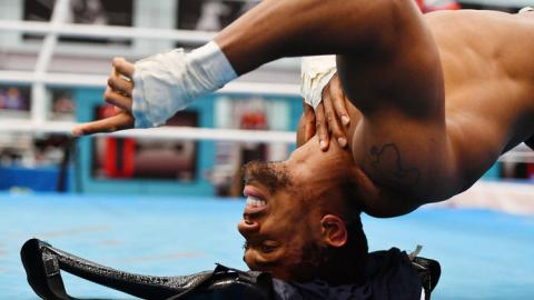 This Is The Insane Fitness Programme Anthony Joshua Uses To Strengthen His Neck