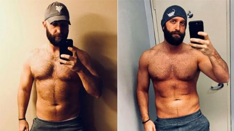 After Just Three Weeks, This Man Reaped The Benefits Of Following The Rock's Diet And Workout Regimen
