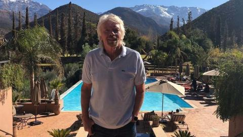 In Need Of Some Holiday Inspo? This Is Where Billionaire Richard Branson Spends His Holidays