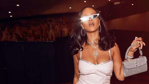 Rihanna Turns Up The Heat As She Promotes Her New Lingerie Line
