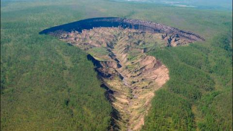 Batagaika Crater, The 'Gateway to Hell' In Siberia That Won't Stop Growing