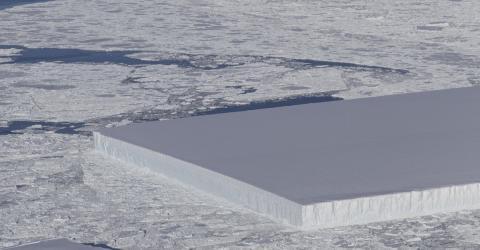 NASA Discovers Bizarre, Perfectly Rectangular Iceberg In Antarctica