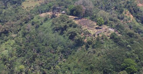 This Indonesian Hill Could Be Hiding The World's Most Fascinating And Oldest Pyramid