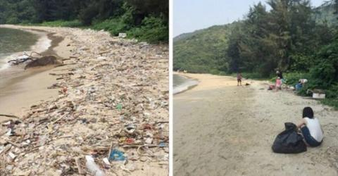 Trash Tag Challenge: The Trend Inspiring Twitter And Instagram To Clean Up The Planet