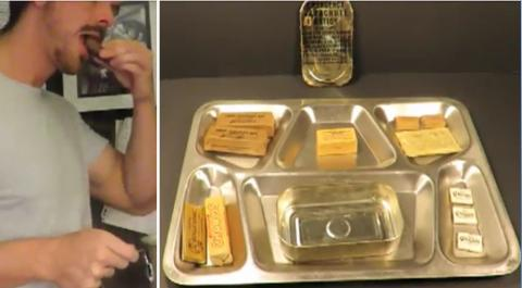 He Found A 72 Year Old Army Survival Ration Kit - And Decided To Eat It (Video)