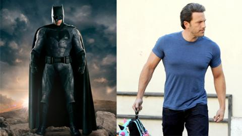 This Is The Workout Ben Affleck Used To Get In Shape For Batman VS. Superman