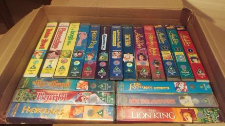Your Old Disney Video Tapes Could Be Worth Thousands Of Pounds On eBay