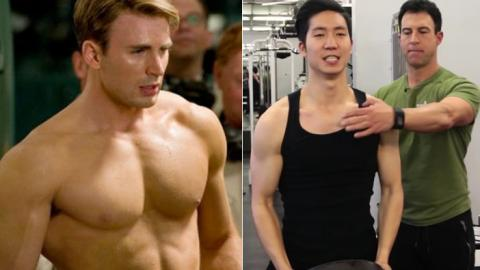 Here's What Happened When Two Not-So-Sporty People Attempted To Follow Captain America's Training Regime
