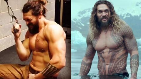 This Is The Brutal Workout Program Jason Momoa Followed For The New Aquaman Film