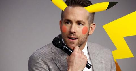 Pokemon: Ryan Reynolds Set To Play Pikachu In Live Action Film