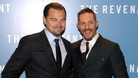 This Is The Tattoo Tom Hardy Got After Losing A Bet To Leonardo DiCaprio