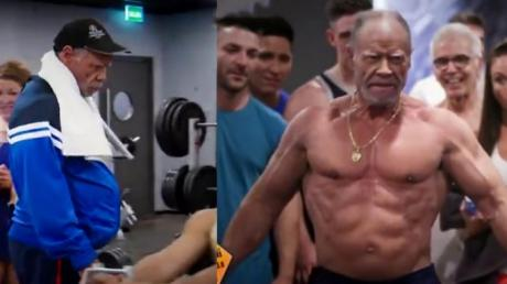 This 72-Year-Old Bodybuilder Played A Brilliant Prank In The Gym