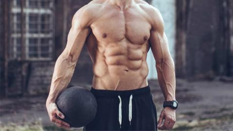 Burn Fat And Work Your Abs With This Medicine Ball Workout!