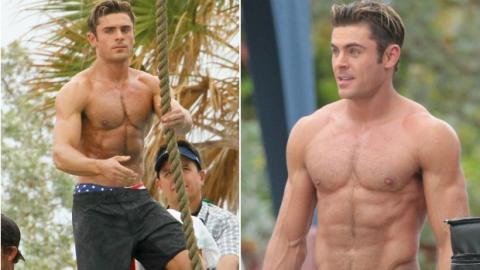 This Is The Workout Plan Zac Efron Used To Get His Baywatch Body