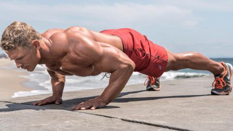 This Is How To Get Rock Hard Pecs Using Just Your Bodyweight