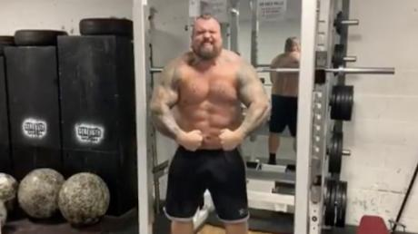 Eddie Hall Announces That He Is Almost Back To His 'Super Saiyan Form'