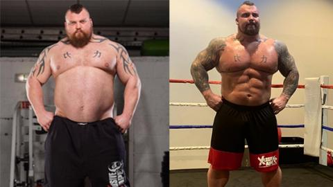 Eddie Hall Used To Fear For His Life... His Transformation Is Unbelievable