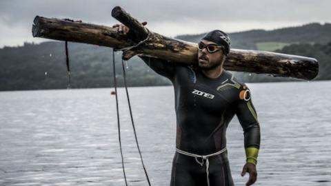 If You Think You've Seen Extreme Sports, Check Out The Challenge This Fitness Star Has Undergone