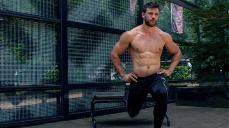 All You Need For This Special Leg Workout Is A Simple Park Bench